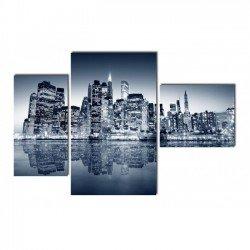 Фото на холсте Печать картин Репродукции и портреты - Огни ночного города