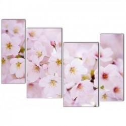 Нежные цветы - Модульная картины, Репродукции, Декоративные панно, Декор стен