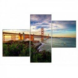 Фото на холсте Печать картин Репродукции и портреты - Мост через реку