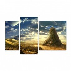 Картина на холсте по фото Модульные картины Печать портретов на холсте Пустыня