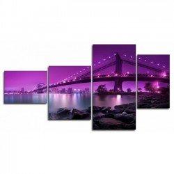Бруклинский мост - Модульная картины, Репродукции, Декоративные панно, Декор стен