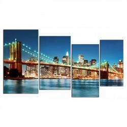 Огни Сан-Франциско - Модульная картины, Репродукции, Декоративные панно, Декор стен