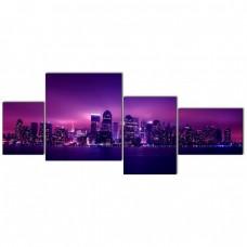 Картина на холсте по фото Модульные картины Печать портретов на холсте Манхеттен