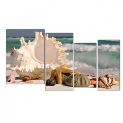 Морские сокровища - Модульная картины, Репродукции, Декоративные панно, Декор стен