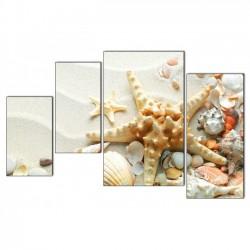 Морская звезда - Модульная картины, Репродукции, Декоративные панно, Декор стен