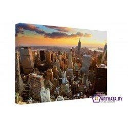 Фото на холсте Печать картин Репродукции и портреты - Небо большого города