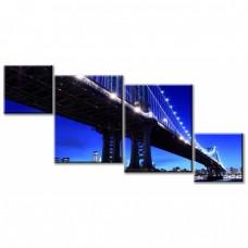 Картина на холсте по фото Модульные картины Печать портретов на холсте Нью-Йоркская легенда