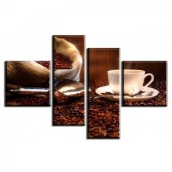 Кофейные зерна - Модульная картины, Репродукции, Декоративные панно, Декор стен