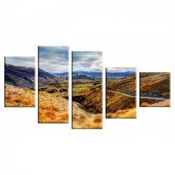 Горный пейзаж - Модульная картины, Репродукции, Декоративные панно, Декор стен