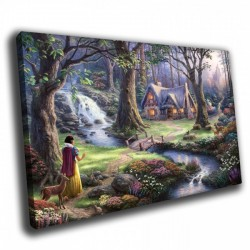 Фото на холсте Печать картин Репродукции и портреты - Сказочный лес