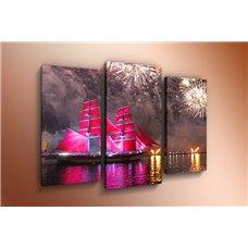 Картина на холсте по фото Модульные картины Печать портретов на холсте Модульная картина на  метале - m-000170