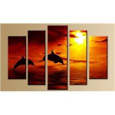 Картина на холсте по фото Модульные картины Печать портретов на холсте Модульная картина на  метале - 5m-081