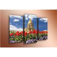 Картина на холсте по фото Модульные картины Печать портретов на холсте Модульная картина на  метале - m-000715