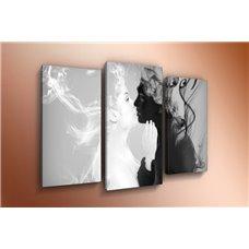 Картина на холсте по фото Модульные картины Печать портретов на холсте Модульная картина на  метале - m-002468
