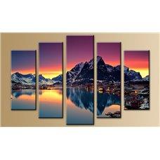 Картина на холсте по фото Модульные картины Печать портретов на холсте Модульная картина на  метале - 5m-260