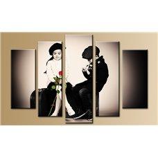Картина на холсте по фото Модульные картины Печать портретов на холсте Модульная картина на  метале - 5m-380