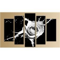 Картина на холсте по фото Модульные картины Печать портретов на холсте Модульная картина на  метале - 5m-258