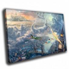 Картина на холсте по фото Модульные картины Печать портретов на холсте Питер Пэн