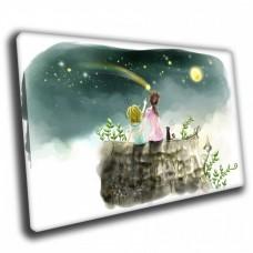 Картина на холсте по фото Модульные картины Печать портретов на холсте Друзья