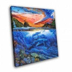 Фото на холсте Печать картин Репродукции и портреты - Воды океана