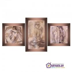 Три сестрицы - Модульная картины, Репродукции, Декоративные панно, Декор стен