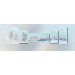 Зимний лес - Модульная картины, Репродукции, Декоративные панно, Декор стен