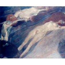 Картина на холсте по фото Модульные картины Печать портретов на холсте Густав Климт картина №2