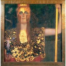 Картина на холсте по фото Модульные картины Печать портретов на холсте Густав Климт картина №3