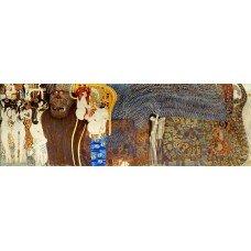 Картина на холсте по фото Модульные картины Печать портретов на холсте Густав Климт картина №9