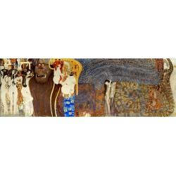 Густав Климт картина №9 - Модульная картины, Репродукции, Декоративные панно, Декор стен