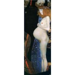 Густав Климт картина №11 - Модульная картины, Репродукции, Декоративные панно, Декор стен