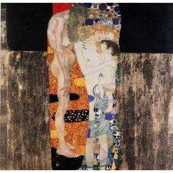 Густав Климт картина №12 - Модульная картины, Репродукции, Декоративные панно, Декор стен