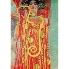 Картина на холсте по фото Модульные картины Печать портретов на холсте Густав Климт картина №13