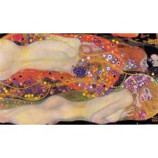 Картина на холсте по фото Модульные картины Печать портретов на холсте Густав Климт картина №14