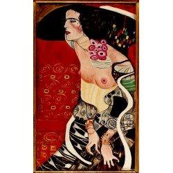Густав Климт картина №15 - Модульная картины, Репродукции, Декоративные панно, Декор стен