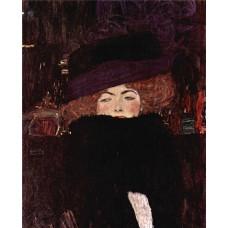 Картина на холсте по фото Модульные картины Печать портретов на холсте Густав Климт картина №17