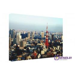 Фото на холсте Печать картин Репродукции и портреты - Токийская телебашня