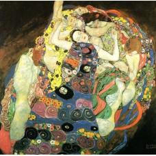 Картина на холсте по фото Модульные картины Печать портретов на холсте Густав Климт картина №20