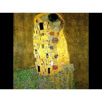 Портреты картины репродукции на заказ - Густав Климт - Поцелуй