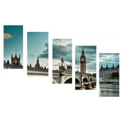 Модульная - Лондон - Модульная картины, Репродукции, Декоративные панно, Декор стен