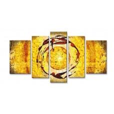 Картина на холсте по фото Модульные картины Печать портретов на холсте Абстракция - Густав Климт