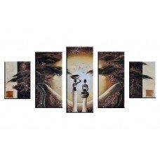 Картина на холсте по фото Модульные картины Печать портретов на холсте Африка