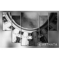 Картина на холсте по фото Модульные картины Печать портретов на холсте Город