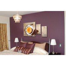 Картина на холсте по фото Модульные картины Печать портретов на холсте Сладкий кофе