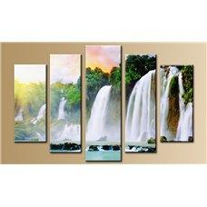 Картина на холсте по фото Модульные картины Печать портретов на холсте Модульная картина на дереве - 5m-099