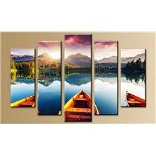 Картина на холсте по фото Модульные картины Печать портретов на холсте Модульная картина на дереве - 5m-504