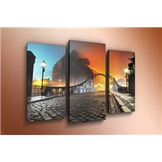 Картина на холсте по фото Модульные картины Печать портретов на холсте Модульная картина на дереве - m-000653