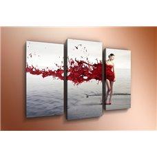 Картина на холсте по фото Модульные картины Печать портретов на холсте Модульная картина на дереве - m-000122