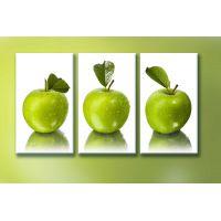 Портреты картины репродукции на заказ - Зелёные яблоки