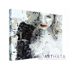 Картина на холсте по фото Модульные картины Печать портретов на холсте Дерек Горес